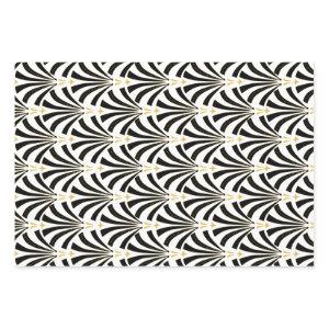 1920s Vintage Glamour Art Deco Pattern Wrapping Paper Sheets