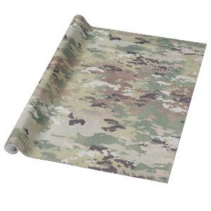 60lb Wrapping Paper Roll Army OCP Camo Uniform Cam