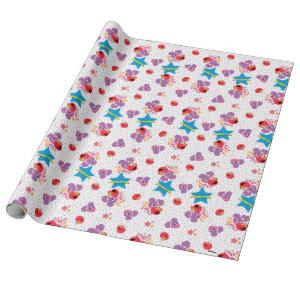 Abby And Elmo 2 Cute Pattern Wrapping Paper