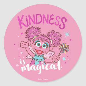 Abby Cadabby - Kindness is Magical Classic Round Sticker
