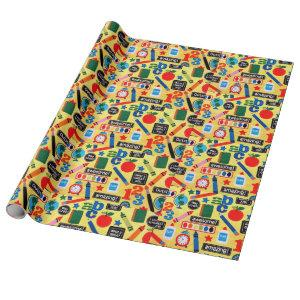 ABC School Amazing Wrapping Paper