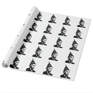 Abraham Lincoln's Birthday Wrapping Paper