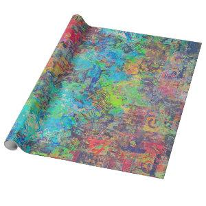 Abstract Art Wrapping or Decoupage Paper