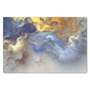Abstract Colored Clouds - Tissue Paper
