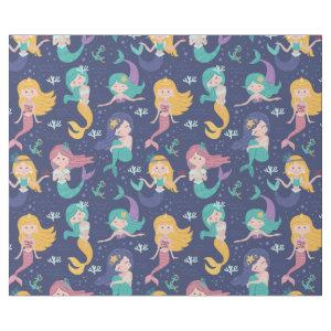 Adorable Mermaids Wrapping Paper