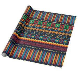 Africa No2, ethnic style Wrapping Paper