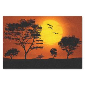 African Sunset Tissue Paper