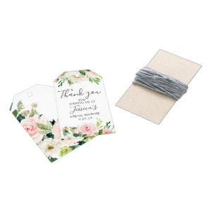 Airy Blush Bridal Shower Favor Tags