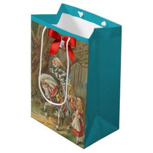 Alice and the White Knight Medium Gift Bag