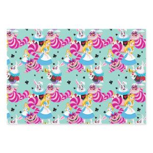 Alice In Wonderland | Colorful Fun Pattern Wrapping Paper Sheets