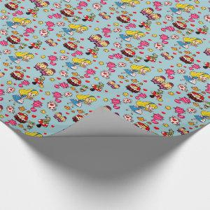 Alice In Wonderland Gifts Fashion Decor Custom Wrapping Paper