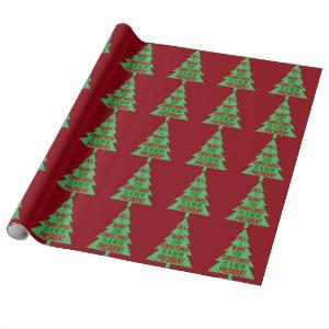 All I Want for Christmas is a New President Wrapping Paper