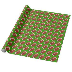 American Football Wrapping Paper