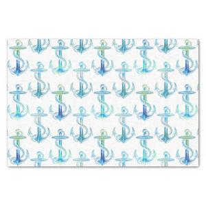 Anchor Blue Green Tissue Paper
