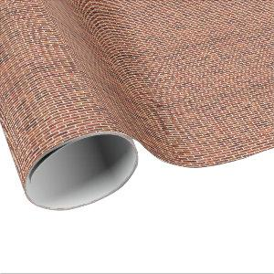 ANOTHER BRICK IN THE WALL! v.2 (Red Brick Pattern) Wrapping Paper