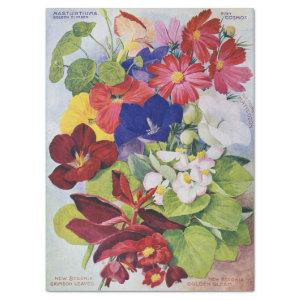 Antique Flower Seed Catalog Tissue Paper 17x23