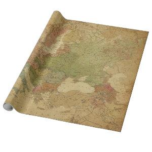 Antique Maps Style 13 Wrapping Paper Roll