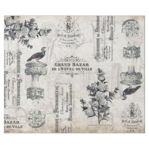 ANTIQUITIES, ARCHITECTURE AND TYPOGRAPHY DECOUPAGE WRAPPING PAPER