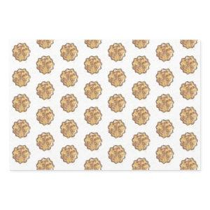 Apple Pie Wrapping Paper Sheet Set