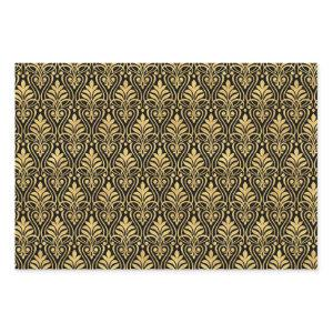 Art Deco Pattern 01 [Gold] Wrapping Paper Sheets