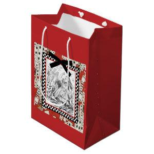 Attack of the Cards 1 Medium Gift Bag
