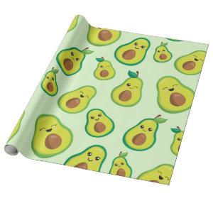 Avocado Love Wrapping Paper