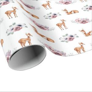 Baby Fawn Wrapping Paper