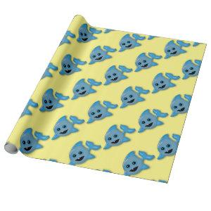 Baby Shark Wrapping Paper