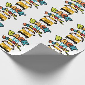 Back to School Wrapping Paper