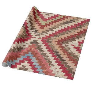 Baklava Chevron Star II // 18th Century Authentic Wrapping Paper