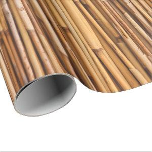 Bamboo Sticks Wrapping Paper