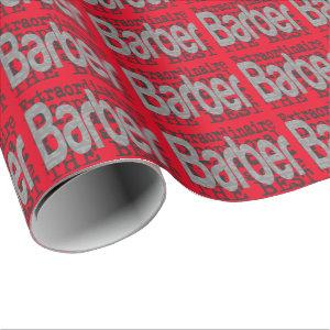 Barber Extraordinaire Wrapping Paper