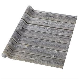 barn wood wrapping paper