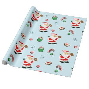 Baseball Christmas gift Wrapping Paper