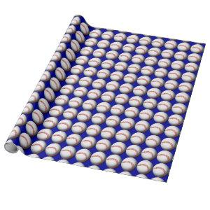 Baseball Custom Wrapping Paper