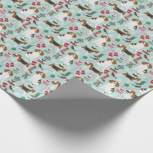 Beagle Christmas Dog Wrapping Paper