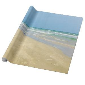 Beautiful Beach Seaside Wrapping Paper