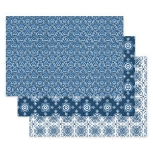 Beautiful Classic Blue | Elegant Blue and White  Sheets