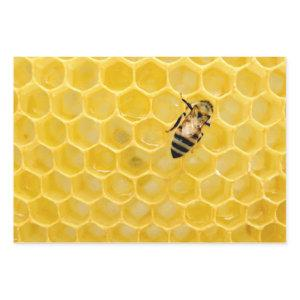 bee and honeycomb wrapping paper sheets