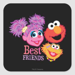 Best Friends Sesame Street Square Sticker