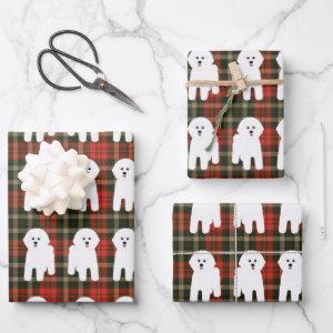 Bichon Frise Wrapping Paper Sheets