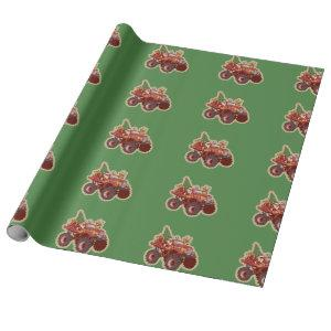 Bigfoot Truck Christmas Wrapping Paper