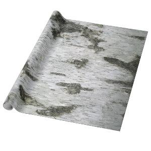 Birch Bark Seamless Wrapping Paper