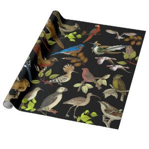 Birds & More Birds Wrapping Paper