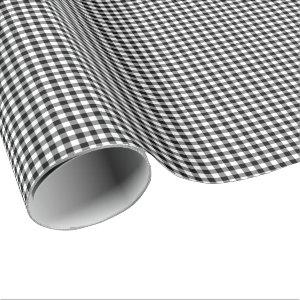 Black and White Gingham Wrapping Paper