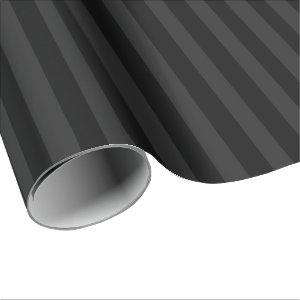 Black Velvet Wrapping Paper