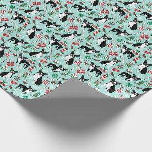 Boston Terrier Christmas Gift Wrap