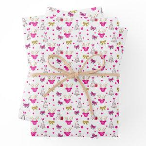 Bow Much Fun Wrapping Paper Sheets