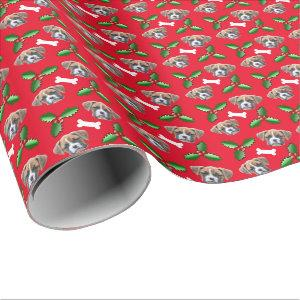 Boxer Dog Christmas Wrapping Paper
