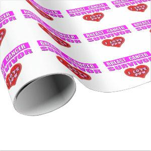 Breast Cancer Survivor Wrapping Paper
